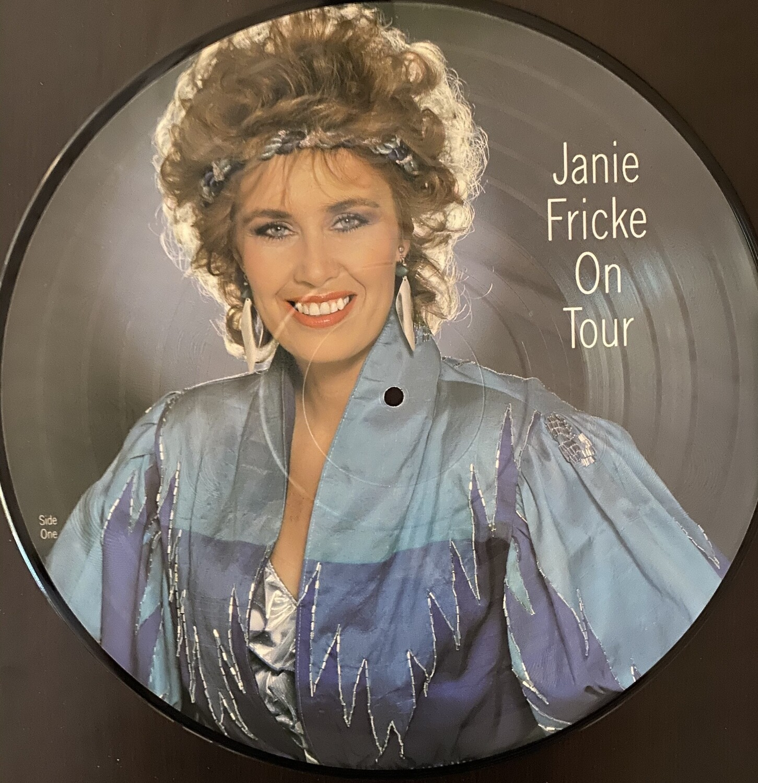 Janie Fricke On Tour Picture Disk Vinyl Album