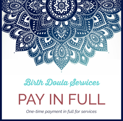 Pay in Full for Birth Doula Services