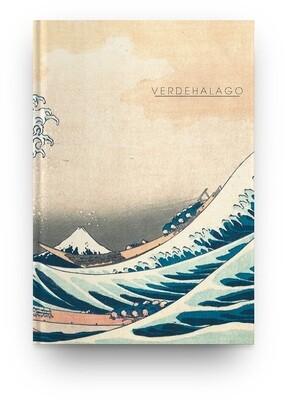 [004] Libreta La gran ola de Katsushika Hokusai