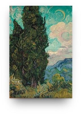 [009] Libreta Van Gogh Cipreses