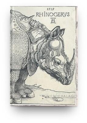 Libreta Alberto Durero, Rinoceronte [En existencia]