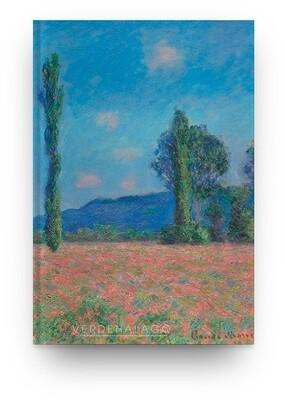 [028]  Libreta Claude Monet, Campo de amapolas