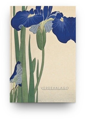 [017] Libreta Flor japonesa II de Ohara Koson