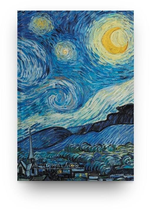 Libreta La noche estrellada de Van Gogh [En existencia]