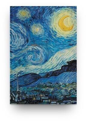 [001] Libreta La noche estrellada de Van Gogh