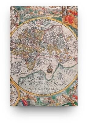 [011] Libreta mapamundi