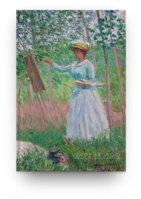 [029]  Libreta Claude Monet, En los bosques