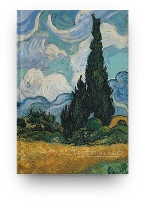 Libreta Van Gogh Ciprés [En existencia]