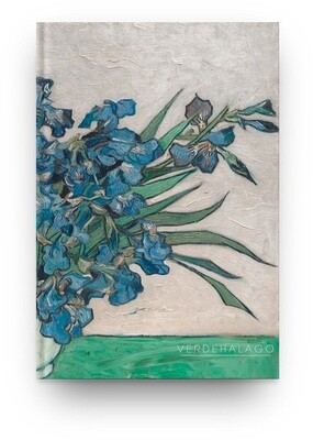 [006] Libreta Van Gogh Iris
