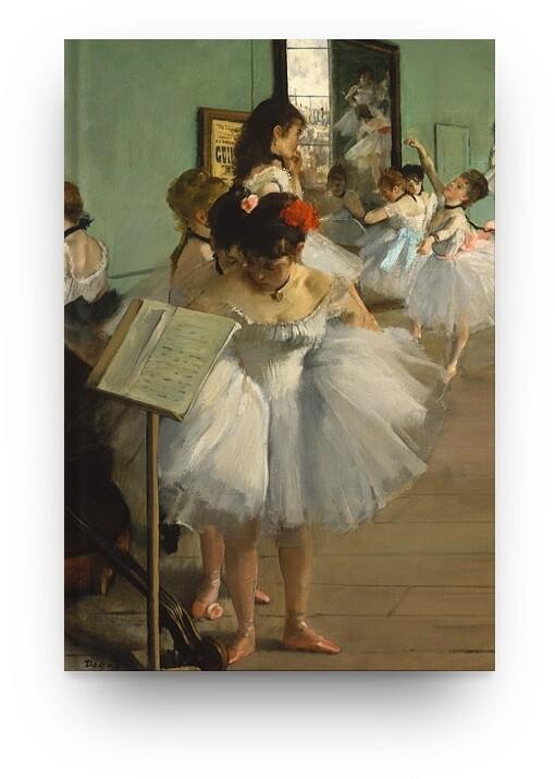 Libreta Edgar Degas bailarina 02