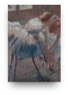 [038] Libreta Edgar Degas bailarina 06