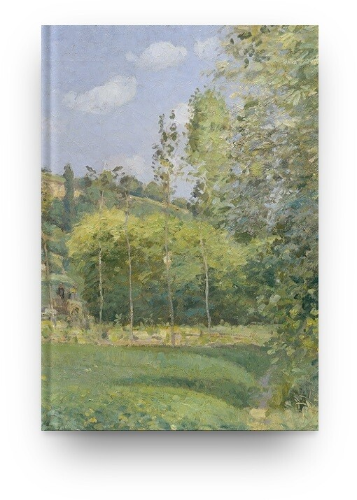 Libreta Camille Pissarro Paisaje