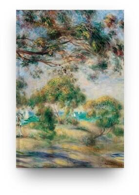 [045] Libreta Pierre-Auguste Renoir Paisaje 01