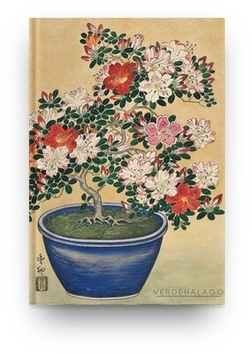 Libreta Ohara Koson Flores azaleas