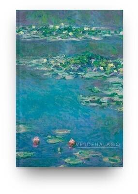 [010] Libreta Claude Monet nenúfares
