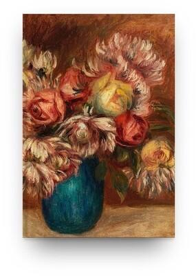 [046] Libreta Pierre-Auguste Renoir Flores 01