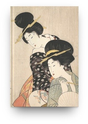 Libreta Kitagawa Utamaro  Dos mujeres