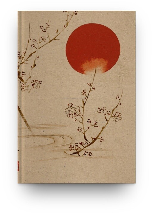 Libreta Shibata Zeshin Flor 01