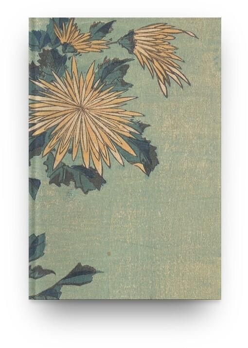 Libreta Katsushika Hokusai Crisantemo