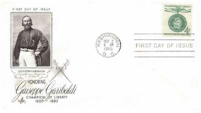 Garibaldi, Sobre primer día
