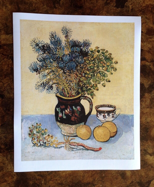 Naturaleza muerta de Van Gogh, impresión [No incluye marco]