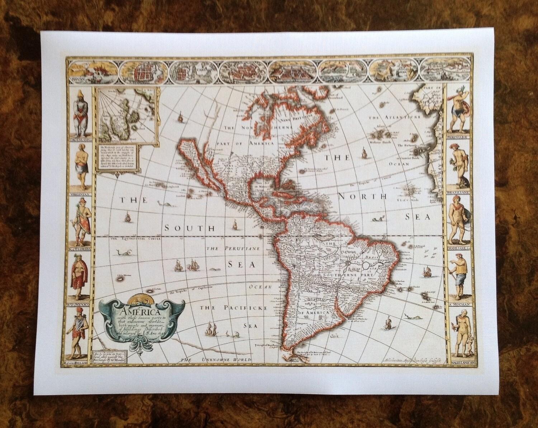 Mapa, impresión [No incluye marco]