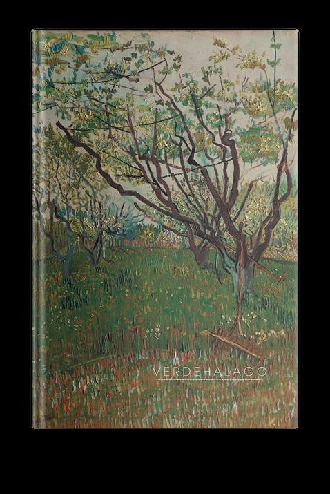 Libreta Van Gogh Frutales en flor
