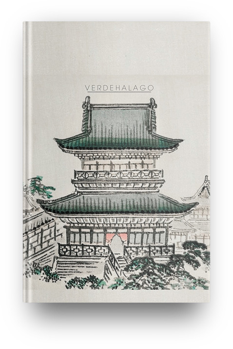 Libreta Shiro  (Palacio) de Kōno Bairei [En existencia]