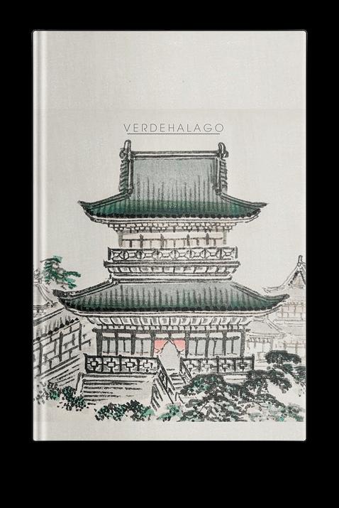 Libreta Shiro  (Palacio) de Kōno Bairei