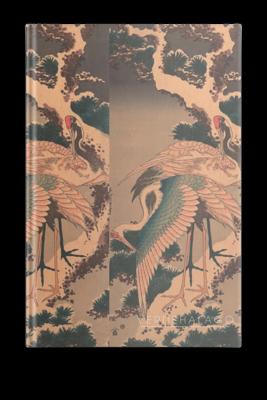 Libreta Grullas de Katsushika Hokusai