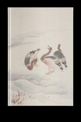 Libreta Gansos de Katsushika Hokusai