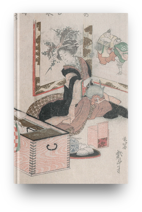 Libreta Ceremonia té de Katsushika Hokusai
