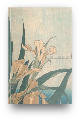 Libreta Iris de Katsushika Hokusai