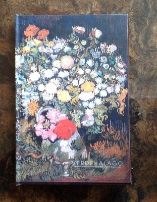 Libreta Jarrón con flores de Van Gogh