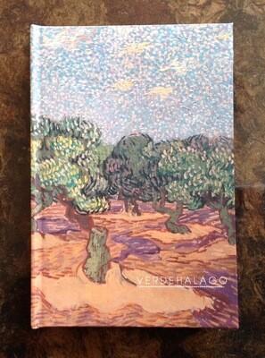Libreta Olivos de Van Gogh