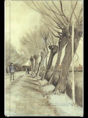 Libreta Camino de Van Gogh