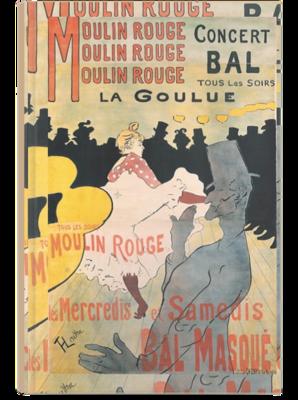 Libreta Toulouse Lautrec, Moulin Rouge