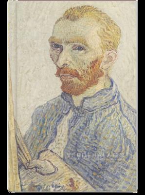 Libreta Autorretrato 04 de Van Gogh