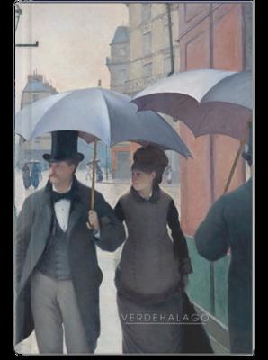 Libreta Gustave Caillebotte, Tarde lluviosa en París