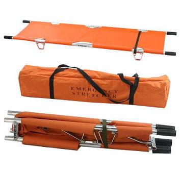 Δίσπαστο φορείο κατά μήκος - Two folding stretcher lengthwise