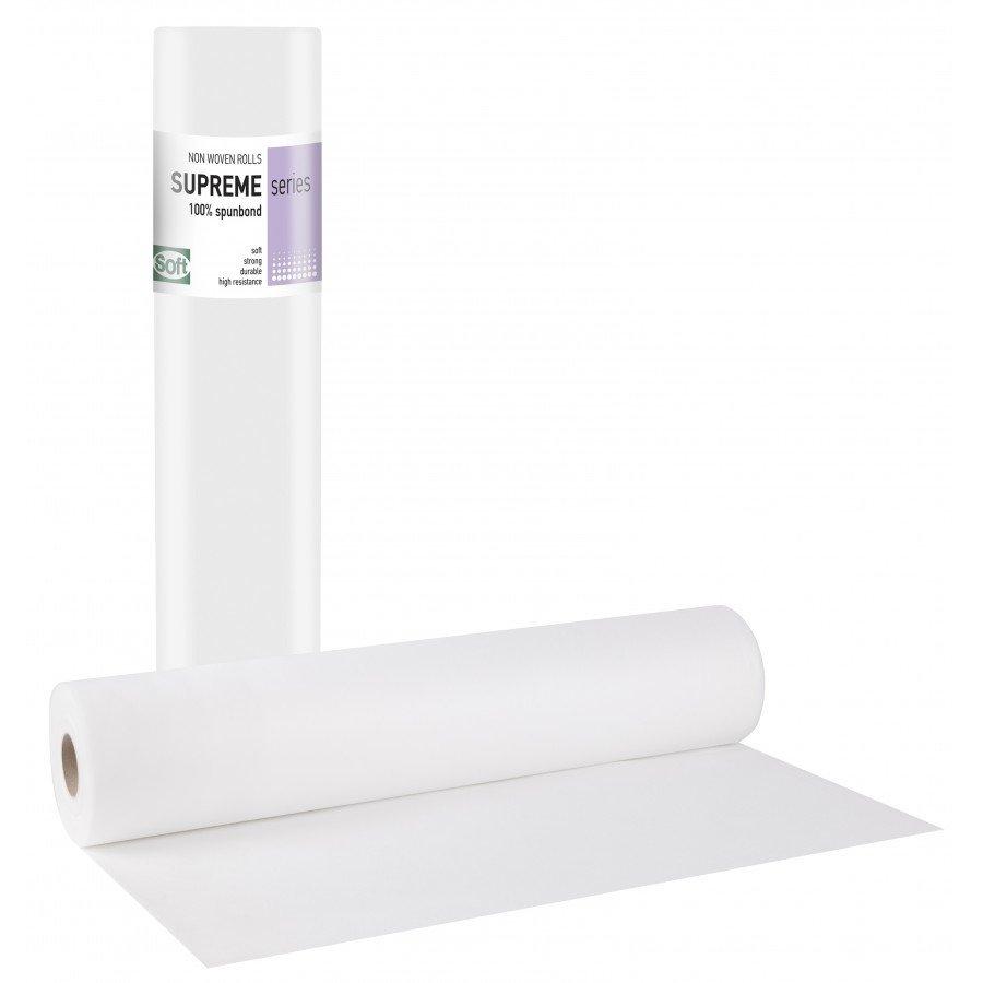 Non-woven λευκό 15gr 50εκ x 70μ. (12 τεμάχια)
