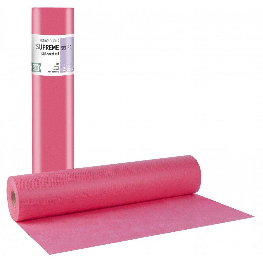 Non-woven ροζ 40gr 68εκ x 50μ. (6 τεμάχια)