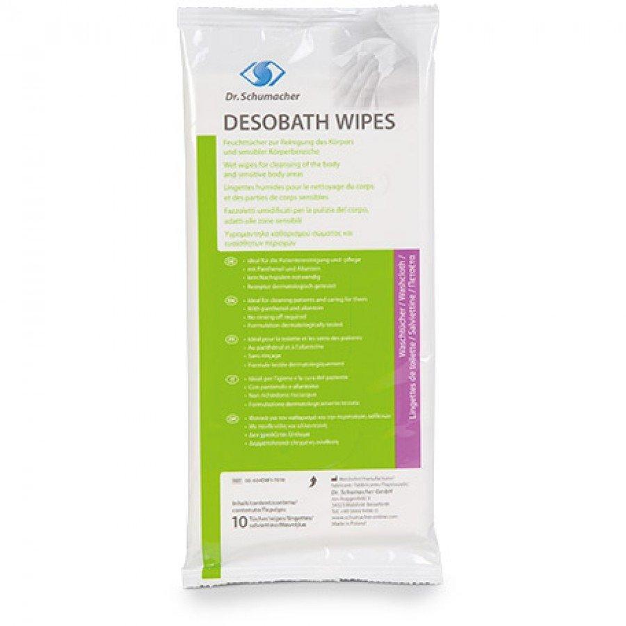 Desobath wipes - Υγρά μαντηλάκια καθαρισμού