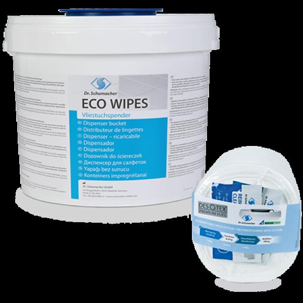 Eco wipes (dry) - Δοχείο για μαντηλάκια απολύμανσης