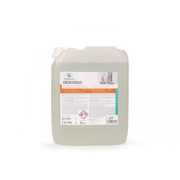 Descosuc - Συμπυκνωμένο υγρό απολύμανσης οδοντιατρικών & χειρ/κών αναρροφήσεων 5000ml