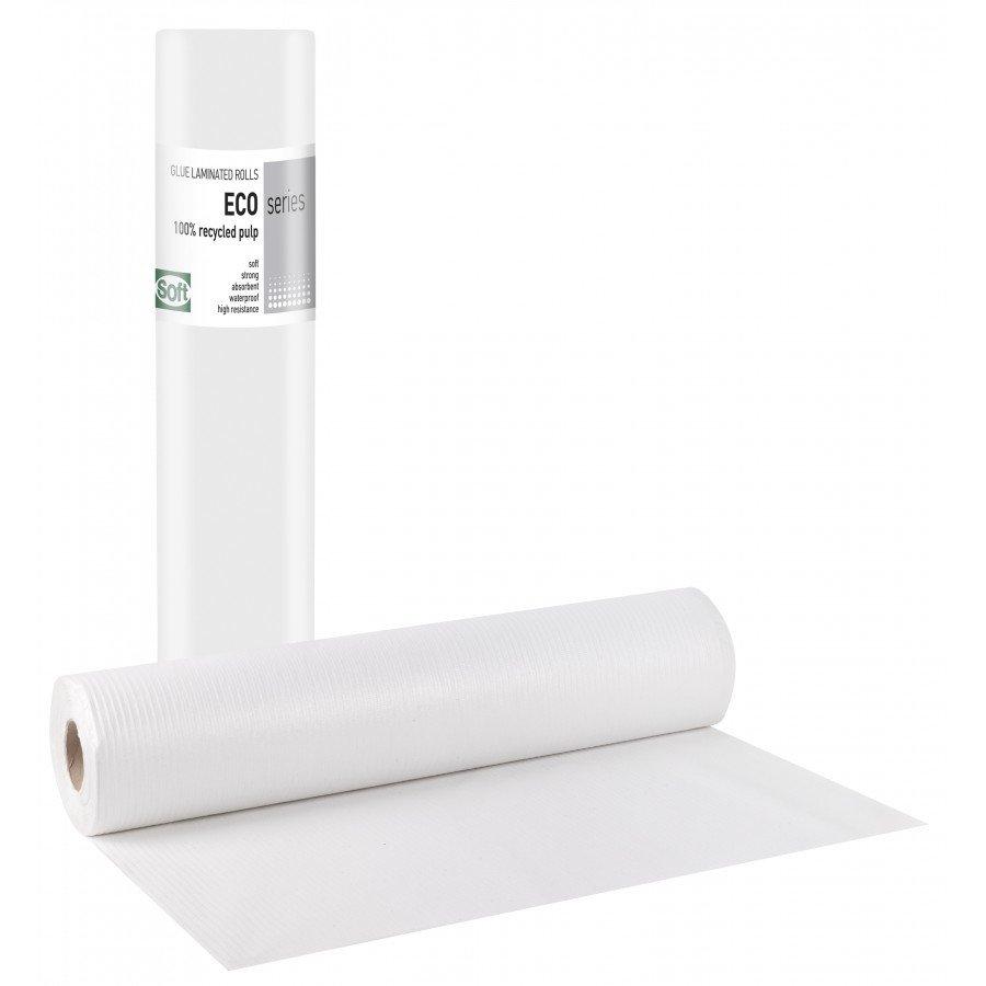 Πλαστικό+χαρτί eco 68εκ x 50μ. (12 τεμάχια)