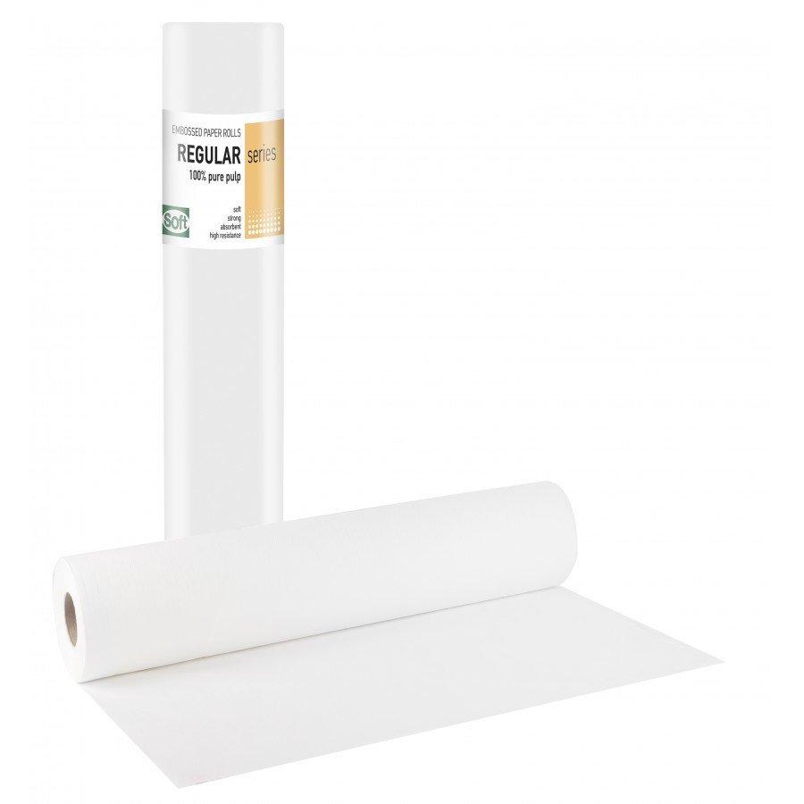 Χάρτινο δίφυλλο με κόλλα γκοφρέ 68εκ x 50μ. (12 τεμάχια)