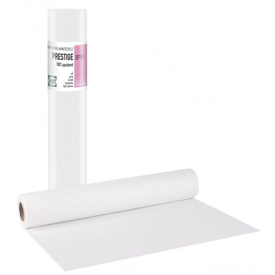 Non-woven+PE λευκό 58εκ x 70μ. (15 τεμάχια)