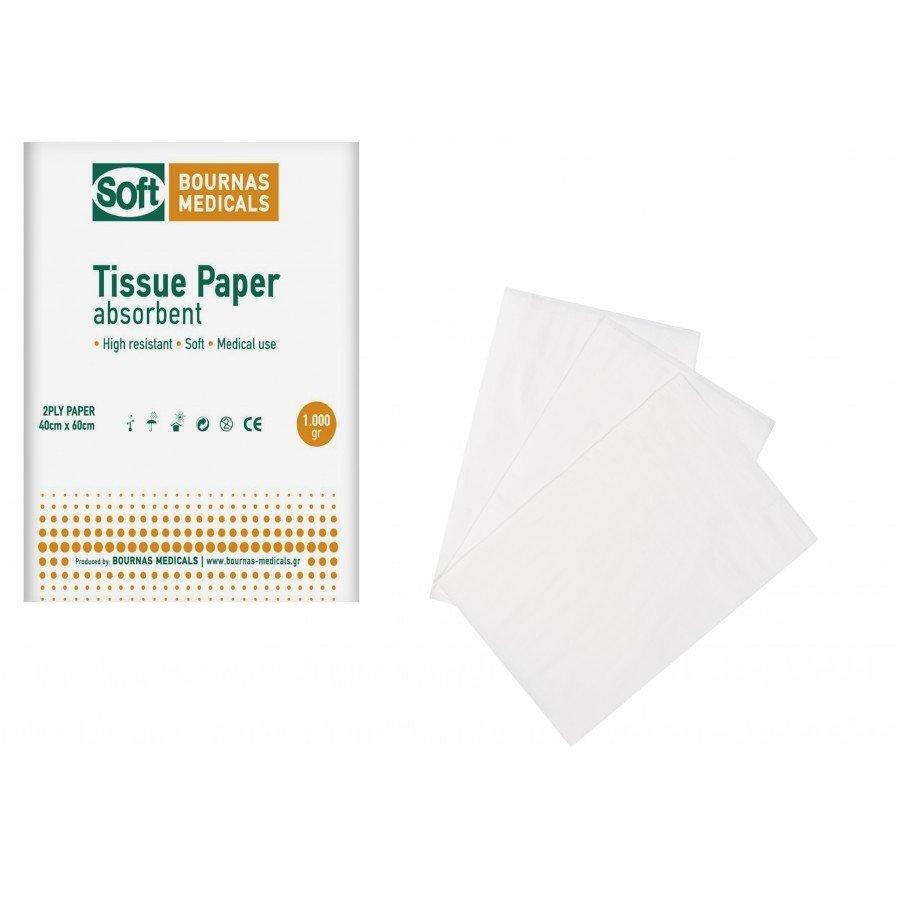 Χαρτοβάμβακας Extra-Soft (λευκότητας 72%) 1kg 40εκ Χ 60 εκ. (τεμάχιο)