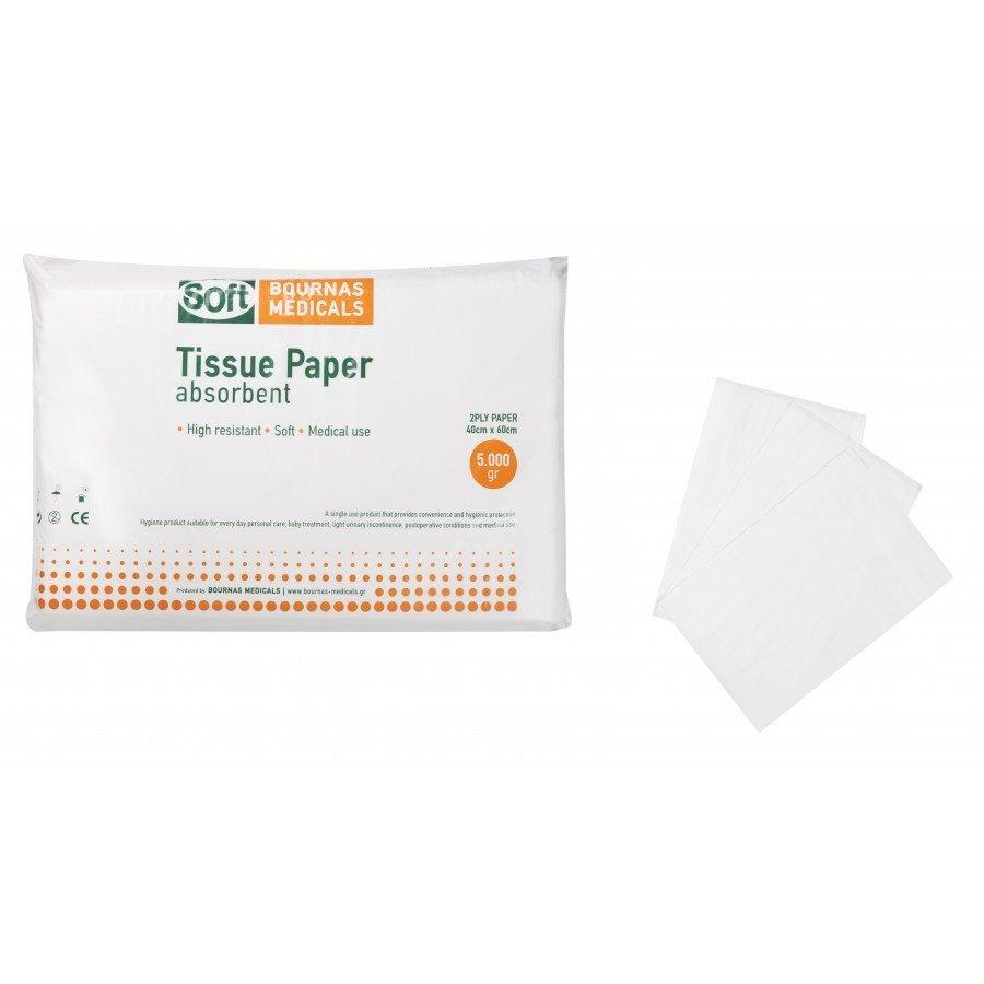 Χαρτοβάμβακας Extra-Soft (λευκότητας 72%) 5kg 40εκ Χ 60 εκ. (τεμάχιο)